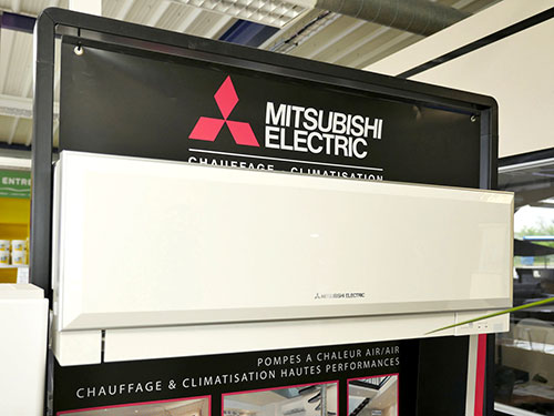 Climatisation Mitsubishi Electric chez Lacouturiere